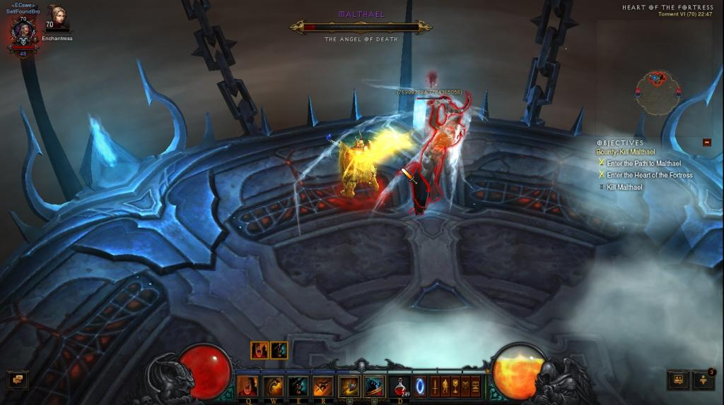 Diablo 3 Reaper Of Souls Boss Malthael Killed On Torment 6 Hardcore Difficulty #30992