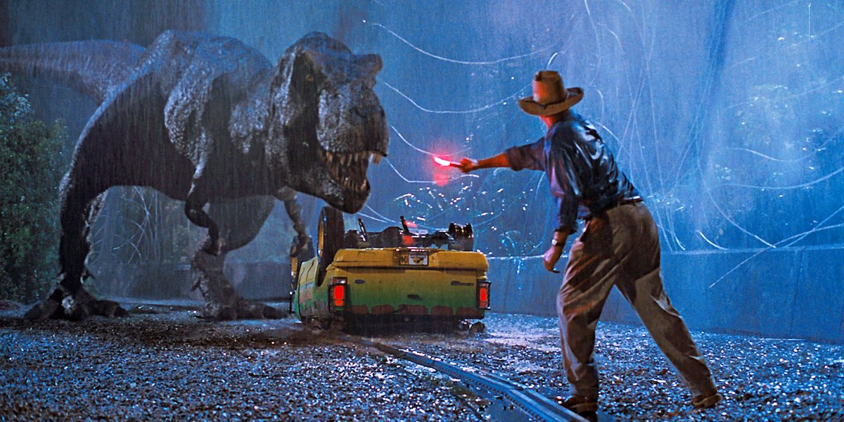 Jurassic Park Video Reveals How The Dinosaurs Went From Stop Motion To CGI
