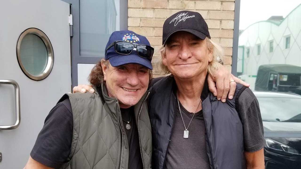 Brian Johnson teams up with Eagles guitarist Joe Walsh for mystery project | Louder