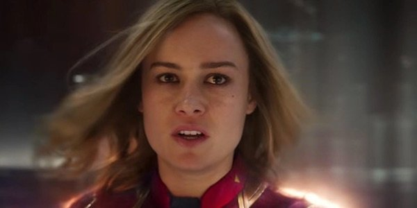 Captain Marvel in the film's third act