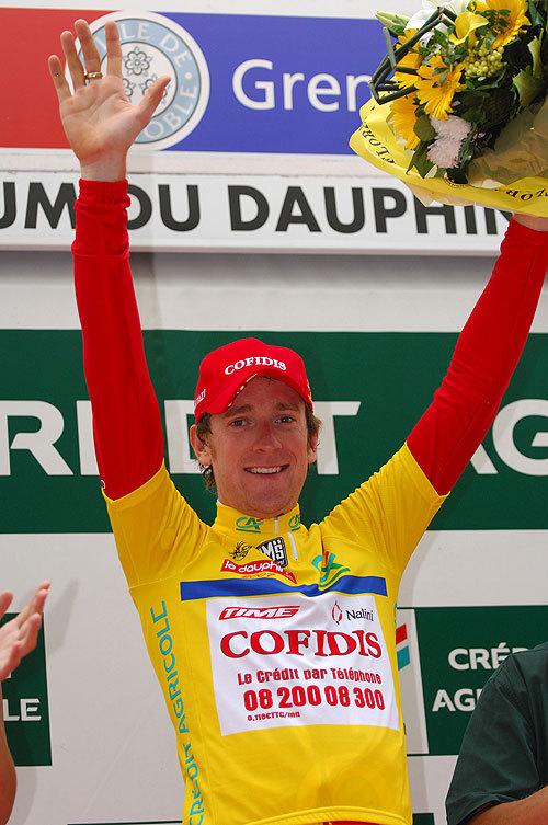Bradley Wiggins Dauphine prologue 2007