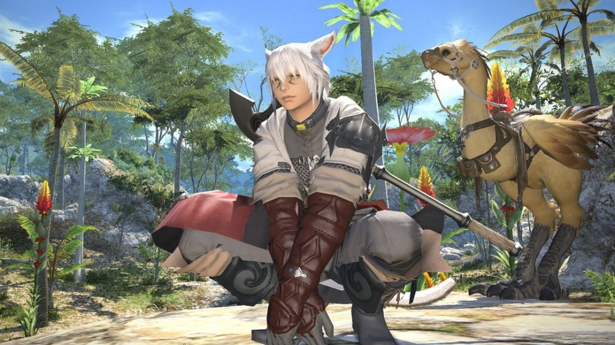 Final Fantasy 14 is currently free on PS4