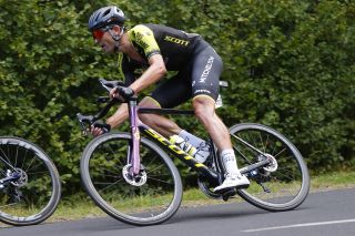 Mitchelton-Scott's Jack Bauer at the 2020 Tour de France
