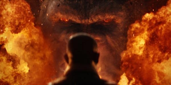 Kong Skull Island Fiery Stare