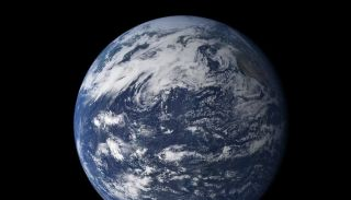 Where do the hydrogen and oxygen that make up the earth's water come from?