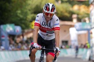 Diego Ulissi (UAE Team Emirates) finished third