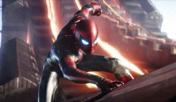Spider-Man in Iron Spider costume
