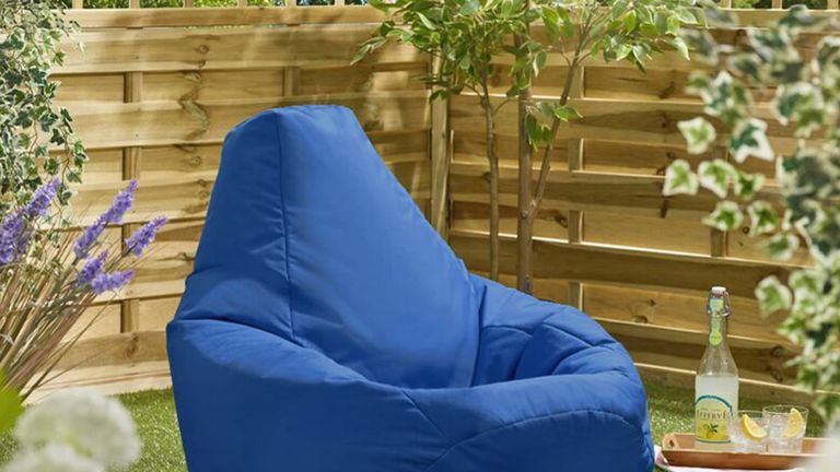 Outdoor bean bags from Wayfair