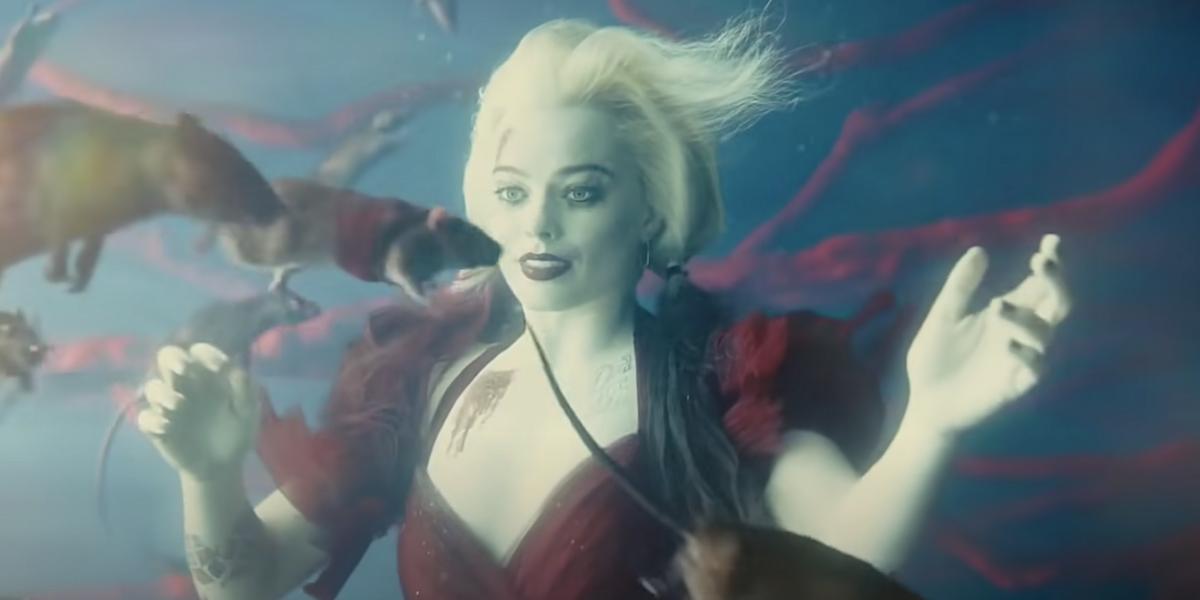Margot Robbie is Harley Quinn