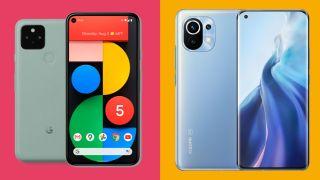 小米MI 11 VS Google Pixel 5