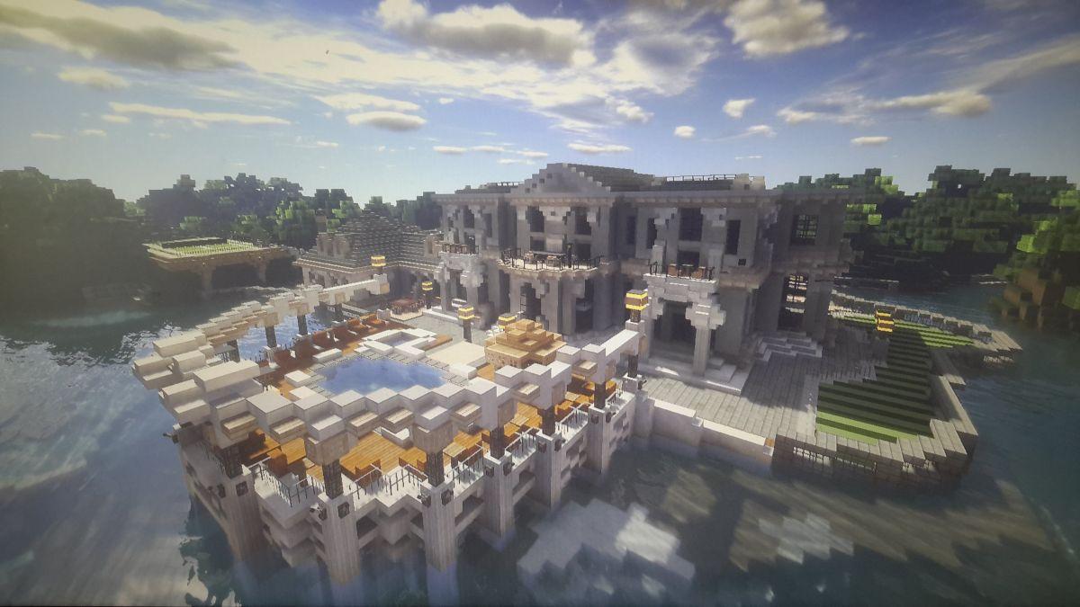 minecraft mansion house designs