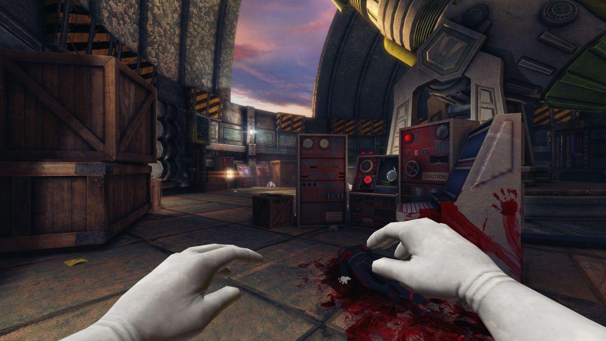 Clean a Bond villain's lair in Viscera Cleanup Detail's new DLC
