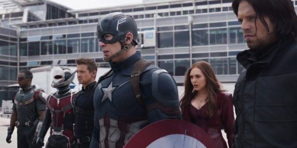 Captain America Civil War Team Cap