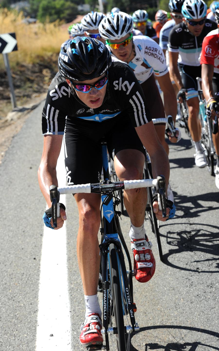 Chris Froome, Vuelta a Espana 2011, stage eight