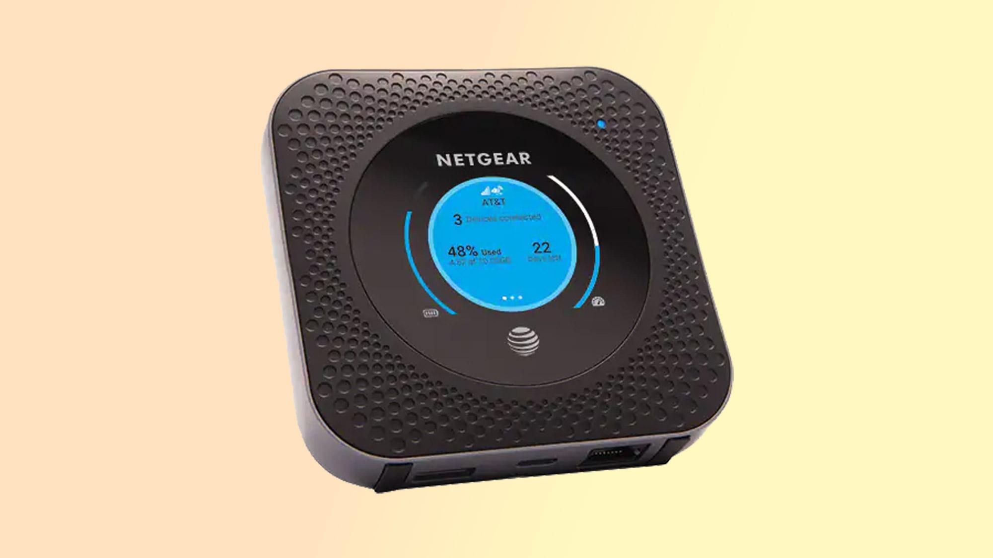 best mobile hotspot: Nighthawk LTE Mobile Hotspot