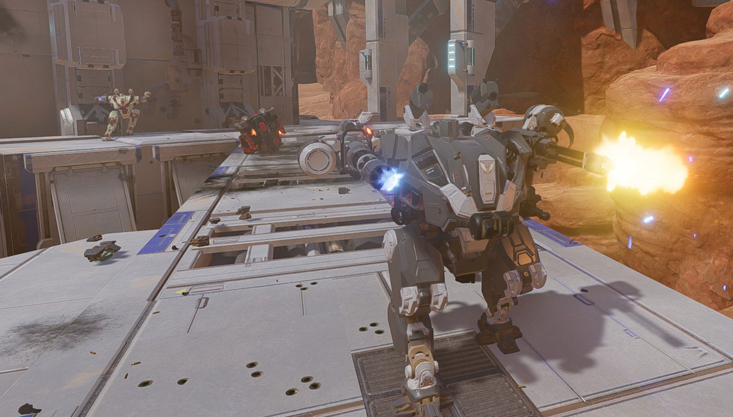 An open beta for new mech shooter Galahad 3093 starts on Friday