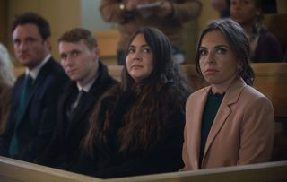 EastEnders Jay Mitchell, Stacey Fowler and Ruby Allen