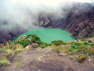 crater lake Irazu