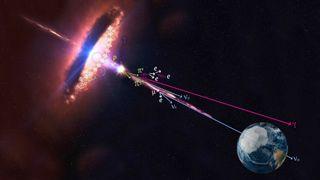 Blazar Blasting Neutrinos