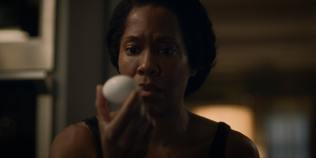 Angela Abar With Egg Watchmen