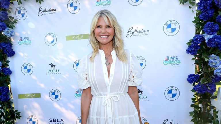 Christie Brinkley photographed in the Hamptons