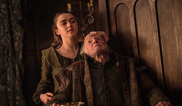 Arya Stark kills Walder Frey, Game of Thrones