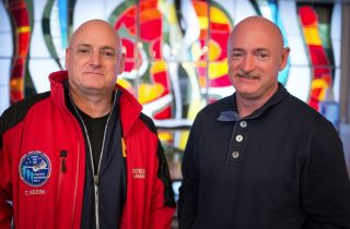 Astronaut Twins Scott and Mark Kelly