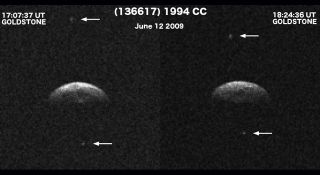 Near-Earth Asteroid Found to be Triplets