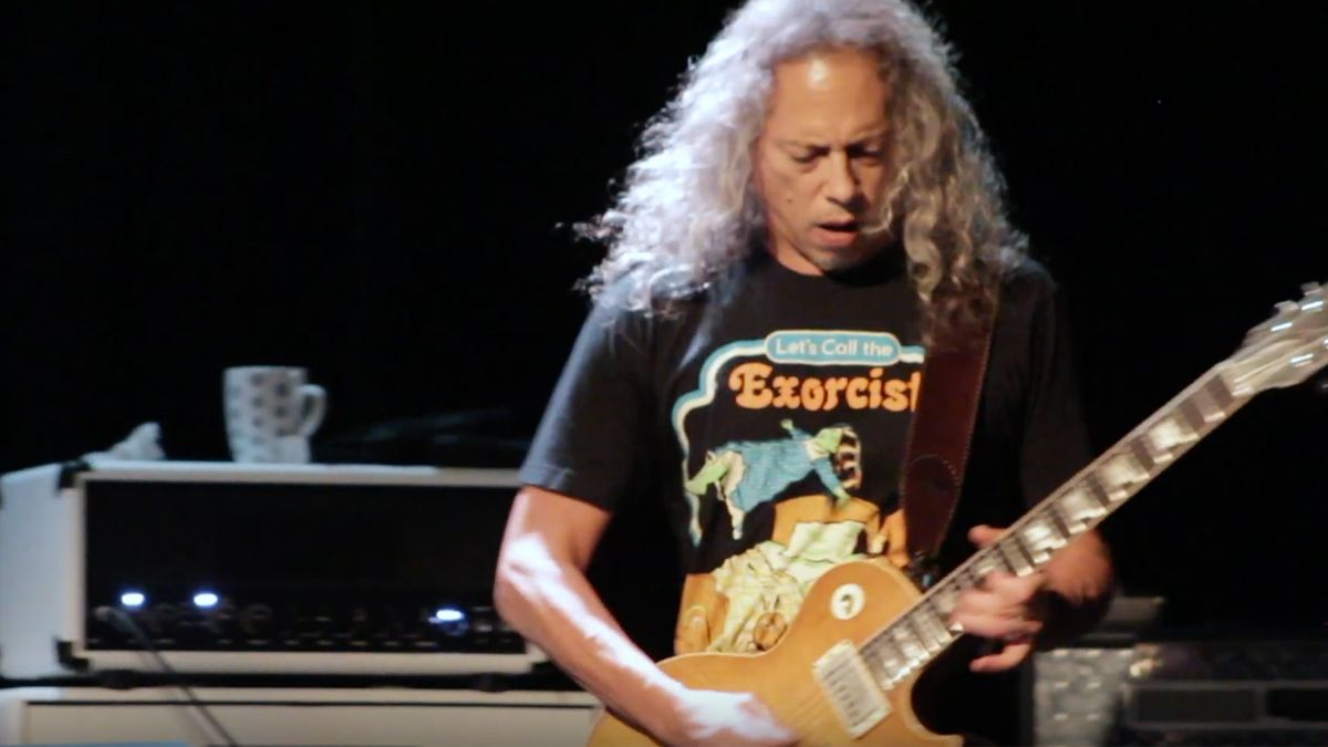 Watch Metallica's Kirk Hammett and Rob Trujillo jam Black Sabbath's War Pigs live