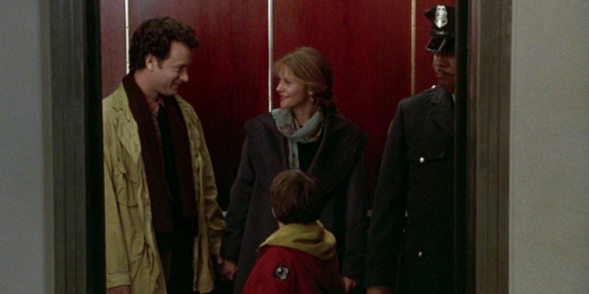 Meg Ryan, Tom Hanks, and Ross Malinger in Sleepless in Seattle