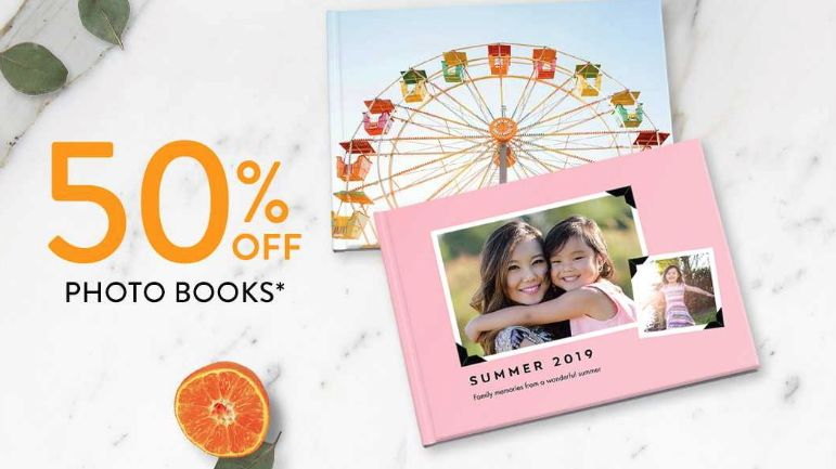 Get a massive saving on photo books and canvas prints in this Snapfish mega sale