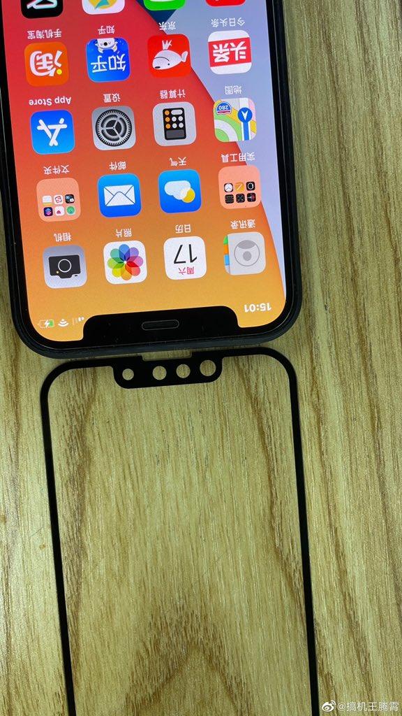 iPhone 13 с вырезом против iPhone 12