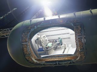 It has been estimated that there will be one surgical emergency every 2.4 years on a mission to Mars.