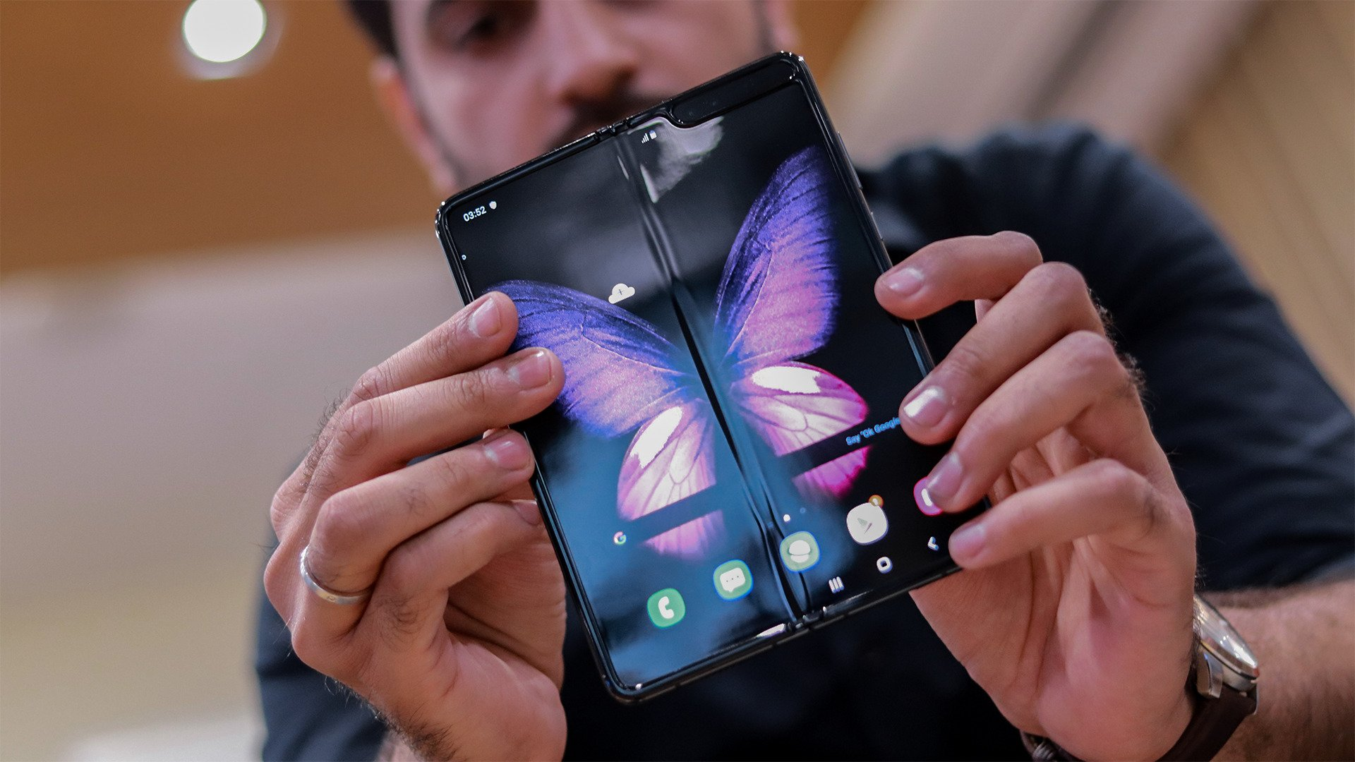 Samsung Galaxy Fold 2 Teased And It S Almost Certain To Join The Galaxy Note 20 Techradar