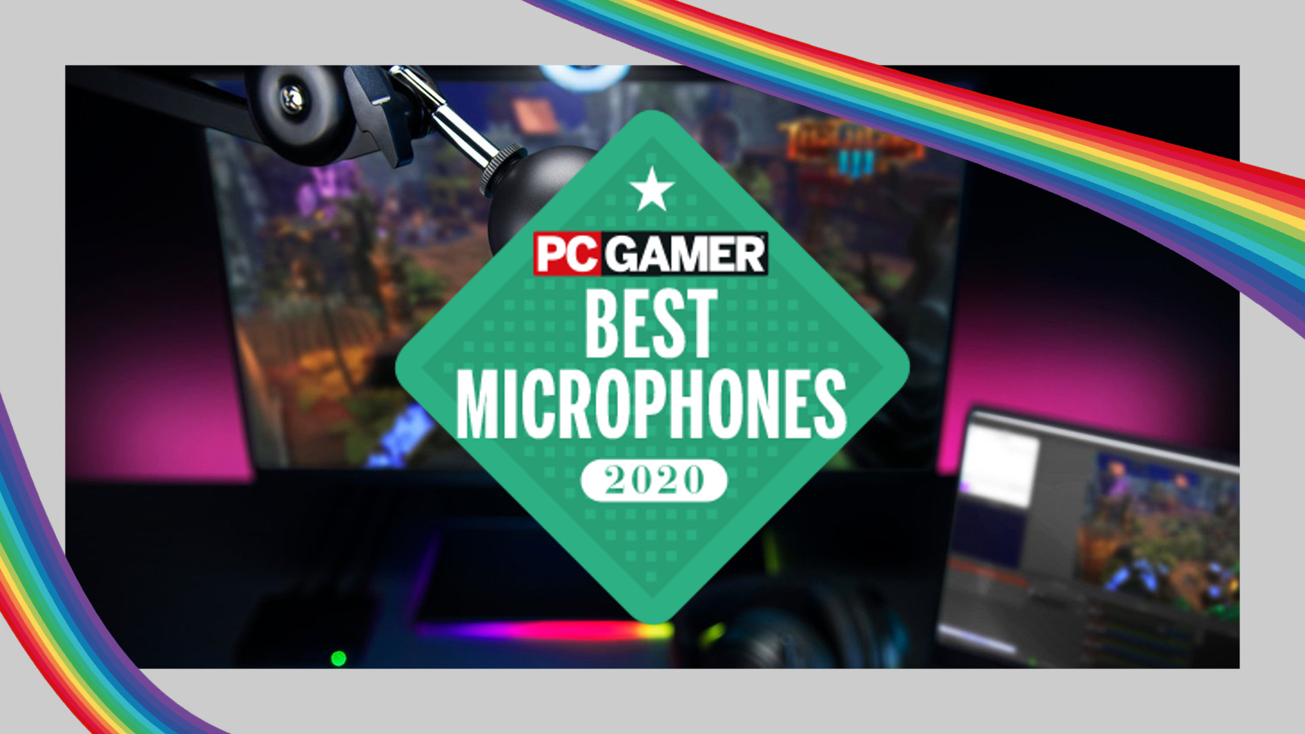 PC Gamer Hardware Awards: What is the best microphone of 2020?
