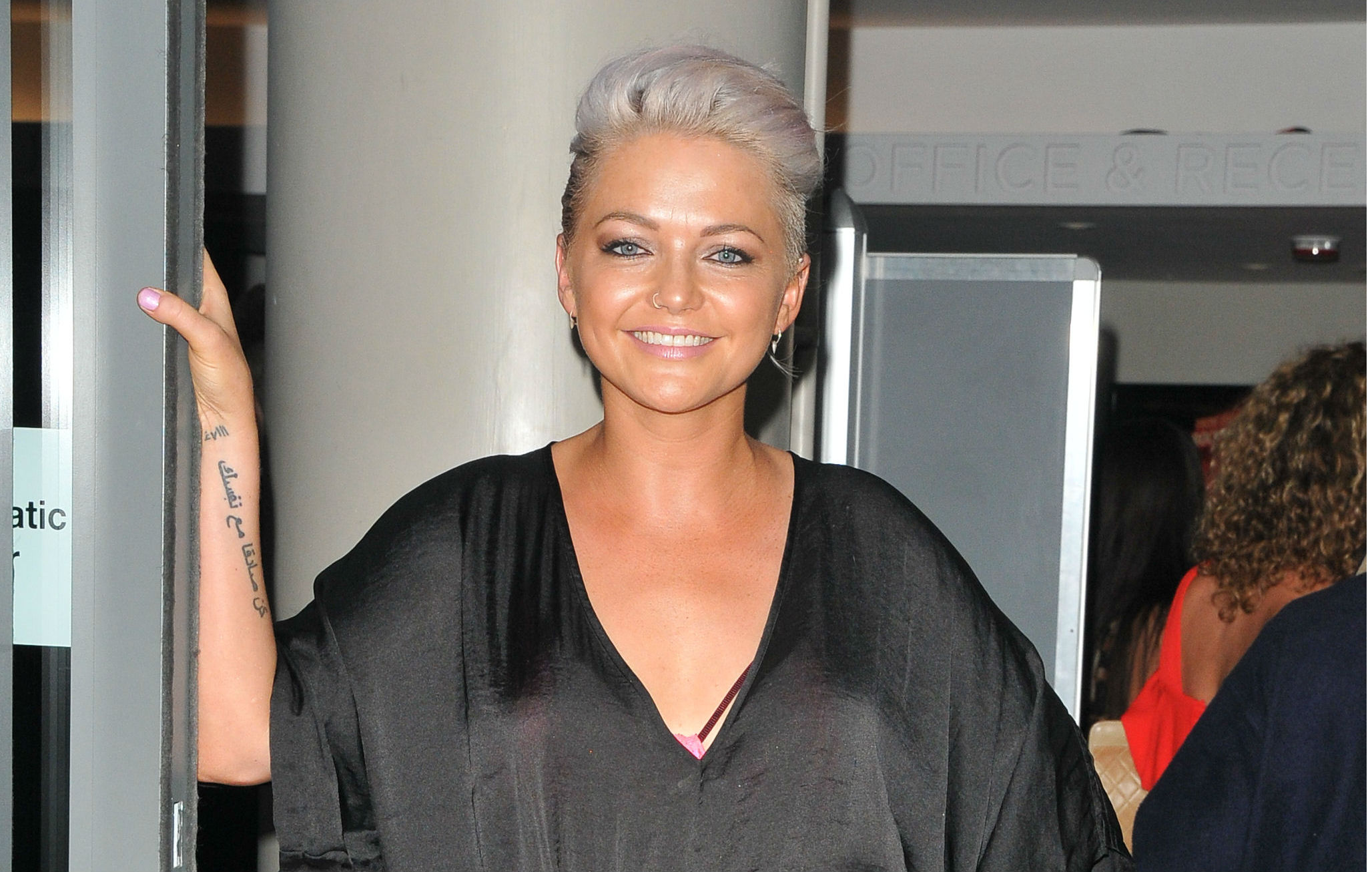 First look at S Club 7's Hannah Spearritt on EastEnders set
