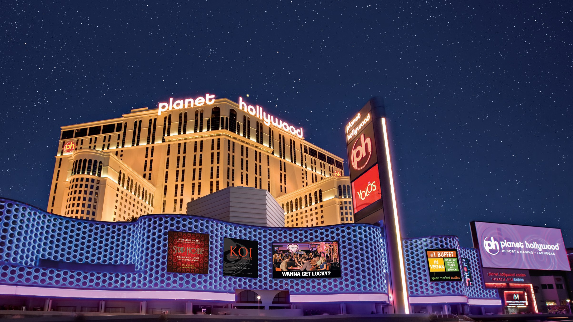 Who owns planet hollywood casino gambling online sport