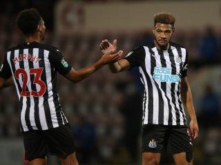Morecambe v Newcastle United – Carabao Cup – Third Round – Globe Arena