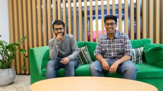 Mohamed Nawaz, Co-founder, and Tarun Krishna, CDO and Co-founder of Trift