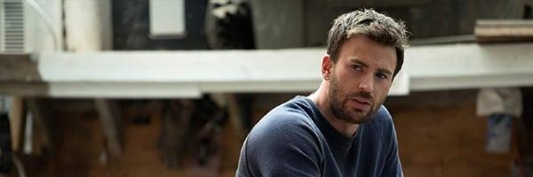Chris Evans gifted looking upset