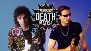 The Thursday Death Match: Joe Satriani vs Steve Vai | Louder