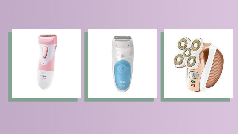 best electric razor for women main collage image with top products