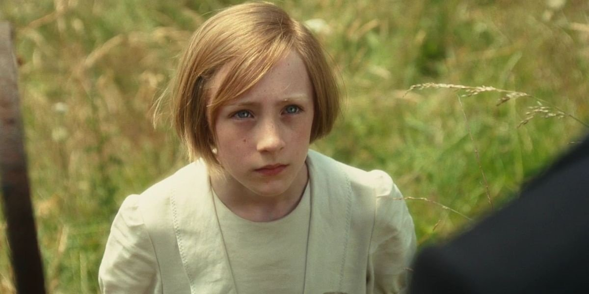 Saoirse Ronan as Briony in Atonement