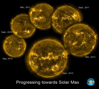 Progressing Towards Solar Max