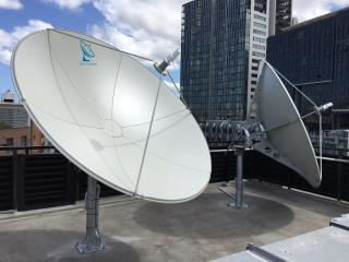 C-band satellite