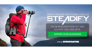 Steadify wearable monopod launched on Kickstarter