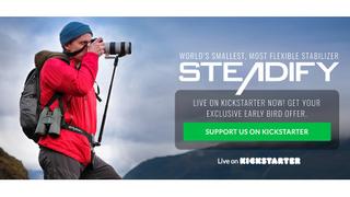 Steadify wearable monopod launched on Kickstarter