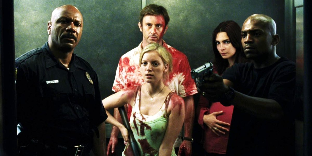 The cast of Dawn of the Dead