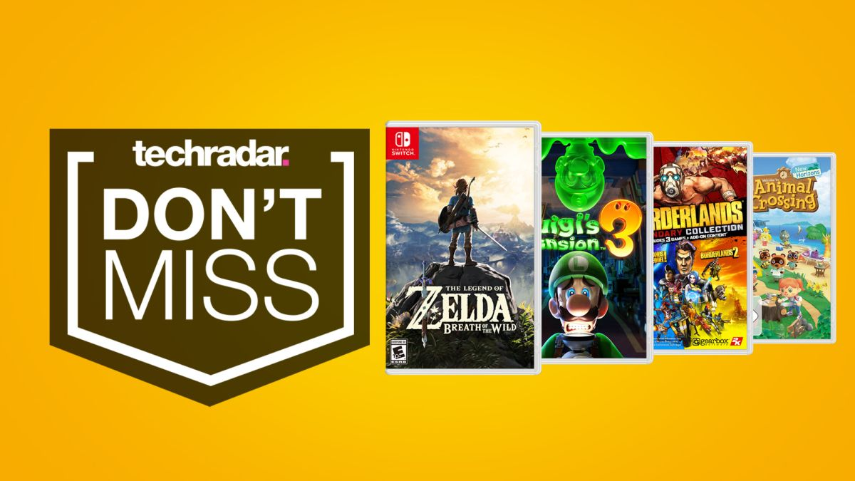This weekend's best Nintendo Switch game deals: save on Breath of the Wild, Mario Kart 8 Deluxe and more