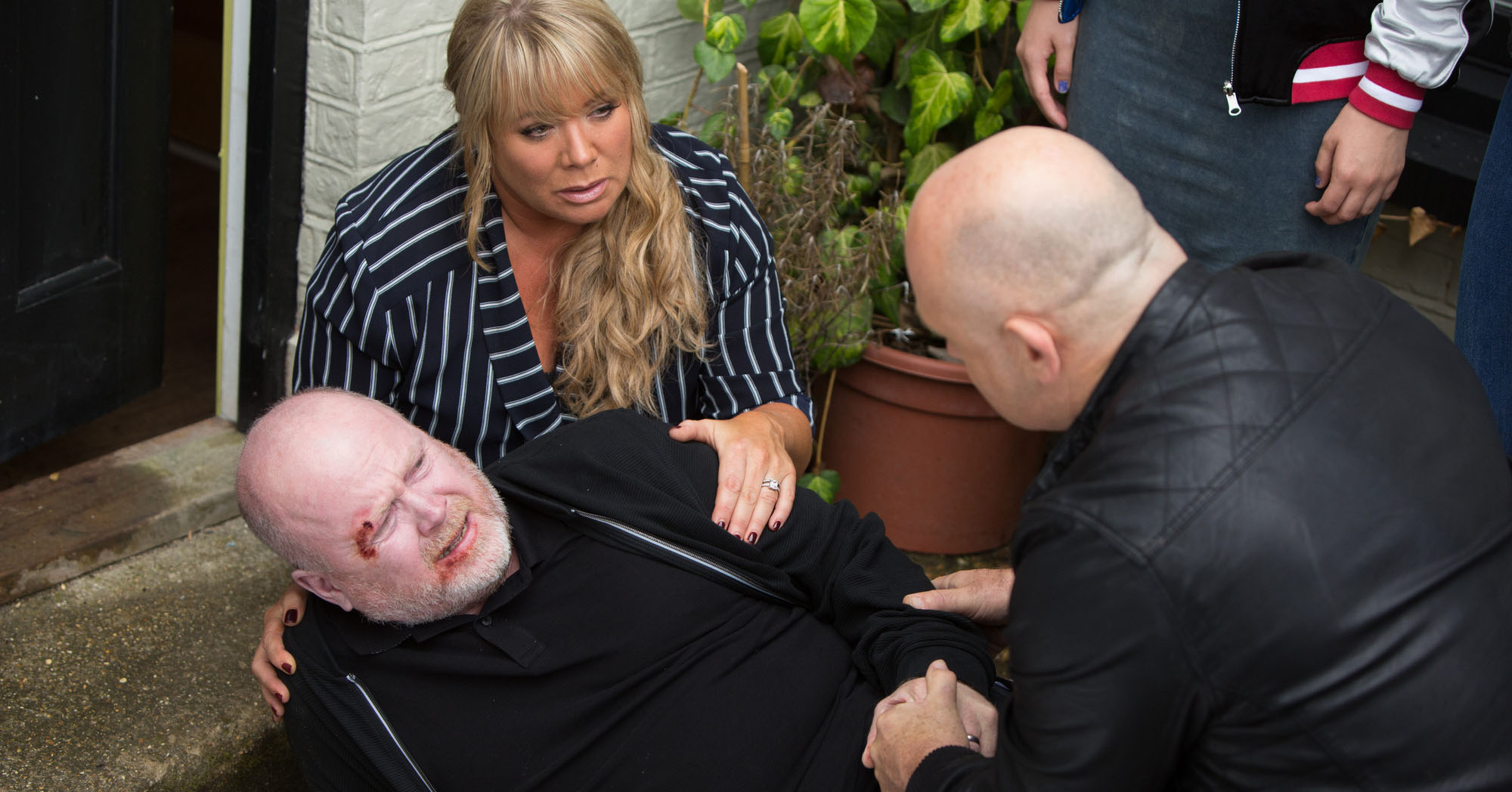 EastEnders Phil Mitchell Grant Mitchell Sharon Mitchell